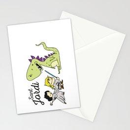 Sant Jordi knight Stationery Cards