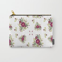 Red Rose Bouquets Carry-All Pouch