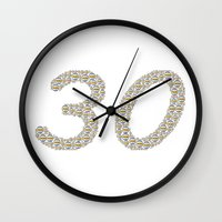 volleyball Wall Clocks featuring Beach volleyball birthday by David Zydd