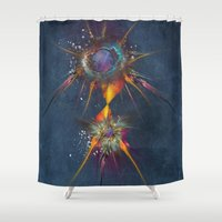 dreamcatcher Shower Curtains featuring Dreamcatcher by jbjart