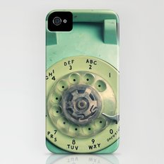 Rotary Telephone iPhone (4, 4s) Slim Case