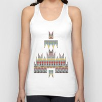 whisky Tank Tops featuring WHISKY AZTEC  by Kiley Victoria