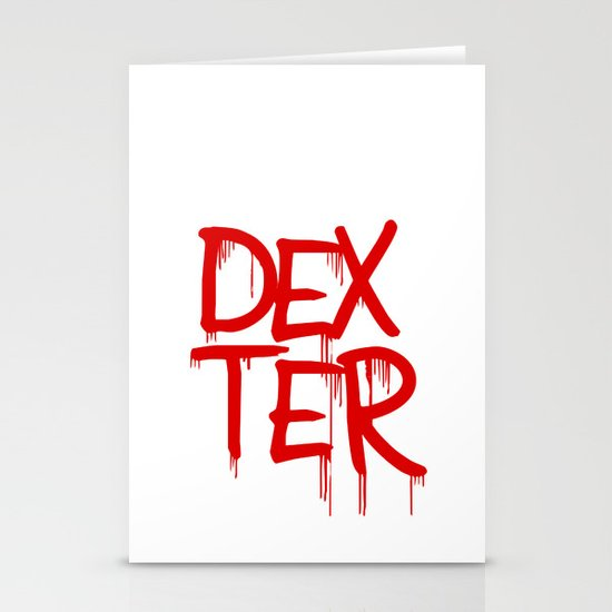 word: Dexter Stationery Cards