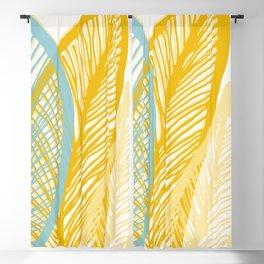 Banana Leaf Pattern Blackout Curtain