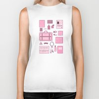 budapest hotel Biker Tanks featuring Grand Budapest Items by M. Gulin