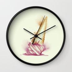 Summer's Gone Wall Clock