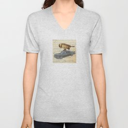 Chickadee Road Trip Unisex V-Neck