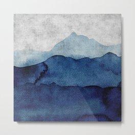 Water color landscape  Metal Print