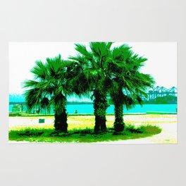 Tropical Tree Trio Rug