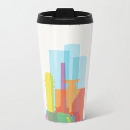 Shapes of Tel Aviv Travel Mug