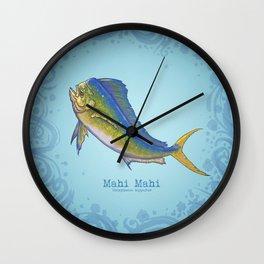 Mahi Mahi ~ Coryphaena hippurus ~ (Copyright 2015) Wall Clock