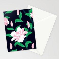Grunge peonies Stationery Cards