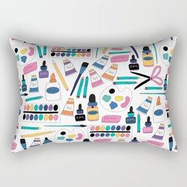 Art Supplies Rectangular Pillow