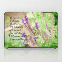 jane austen iPad Cases featuring Mr. Darcy Proposal Jane Austen by KimberosePhotography