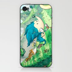Starring Sonic and Miles 'Tails' Prower (Blue Version) iPhone & iPod Skin
