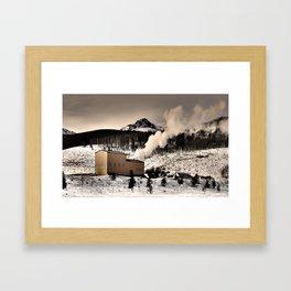 Colorado Smokestack Framed Art Print