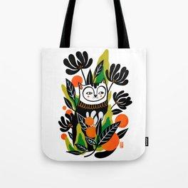 Mossy Cat Tote Bag