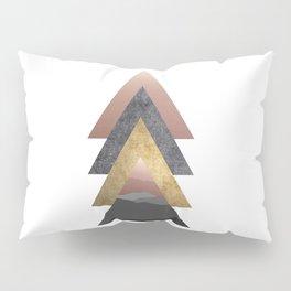 Valley, Scandinavian Modern Abstract Pillow Sham