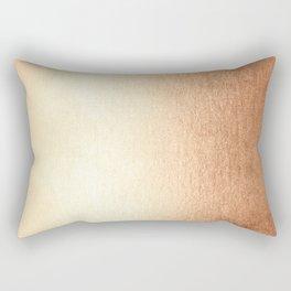Simply Deep Bronze Amber Rectangular Pillow