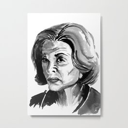 Lucille Bluth Metal Print