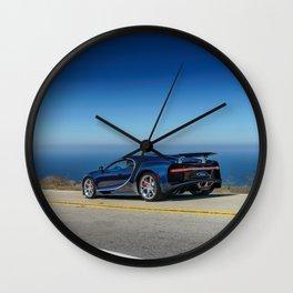 Bugatti Chiron Wall Clock
