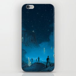 The Ethereal Underground iPhone Skin