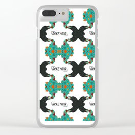 Crow's Cacophony Clear iPhone Case