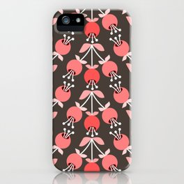 Daily pattern: Retro Flower No.8 iPhone Case