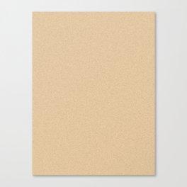 Sunset Orange Saturated Pixel Dust Canvas Print