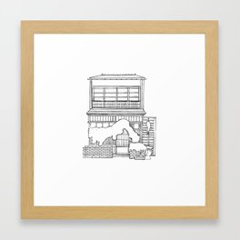Tokyo House 1 Framed Art Print
