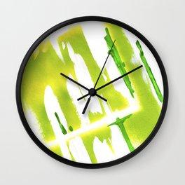 Acid Spring Colors Wall Clock