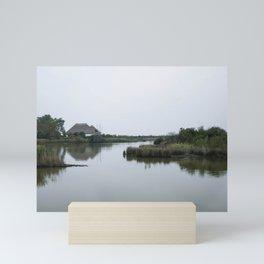 Peaceful lagoon #2 Mini Art Print