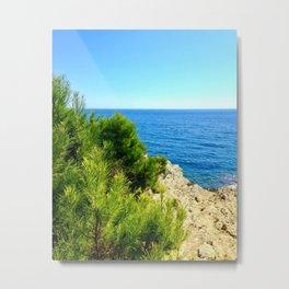 Cap Ferrat Seaside Metal Print
