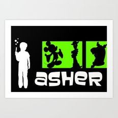 Archer Asher Art Print