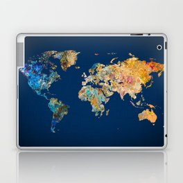 World Map 11 Laptop & iPad Skin