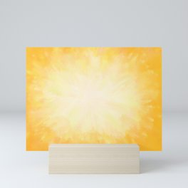 Golden Sunburst Mini Art Print