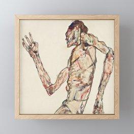 """Egon Schiele """"The Dancer"""" Framed Mini Art Print"""