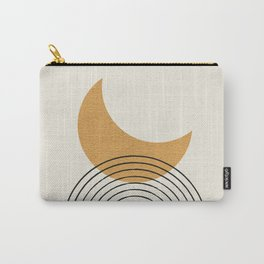 Moon mountain gold - Mid century style Carry-All Pouch