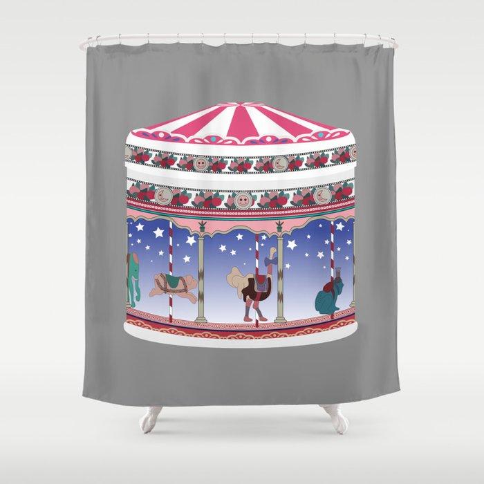 jeux d'enfants Shower Curtain
