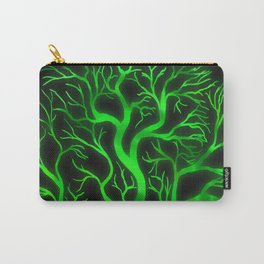 Emerald Branches Carry-All Pouch