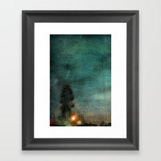 When the Carnival Comes to Town Framed Art Print