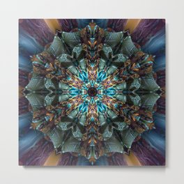 Mandala of aristocracy Metal Print