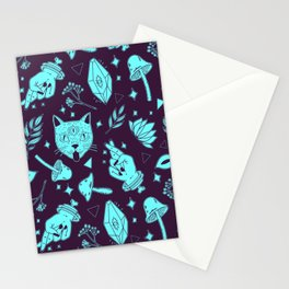 Trippy Magic Pattern  Stationery Cards