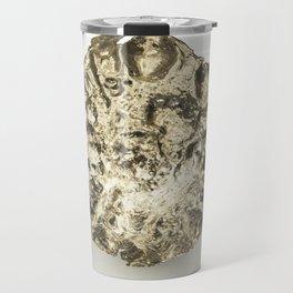 mysterious silver flower Travel Mug