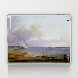 Johan Christian Dahl View over Øresund Laptop & iPad Skin