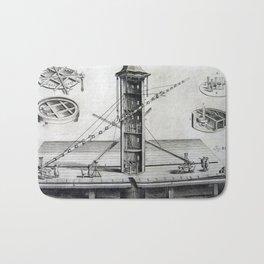 Johannes Hevelius - Celestial Devices, Part 1 - Plate 2 Bath Mat