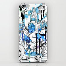 Distant Parts iPhone & iPod Skin