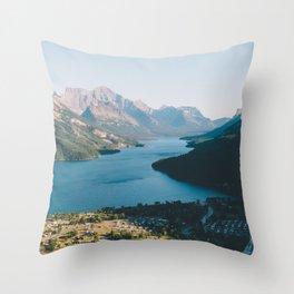 Waterton Village Throw Pillow