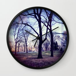 Wake Up In Your Dream World Wall Clock