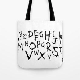 Alphabet #1 Tote Bag